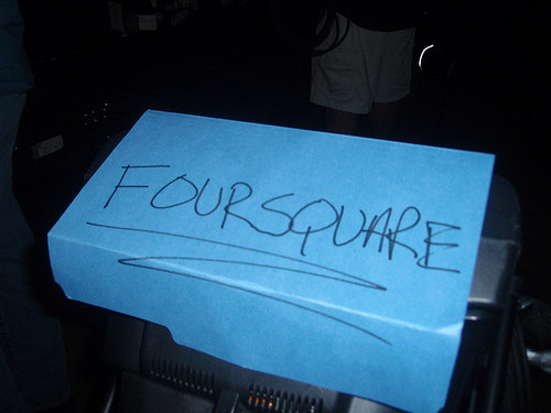 "The FourSquare ""Game"""